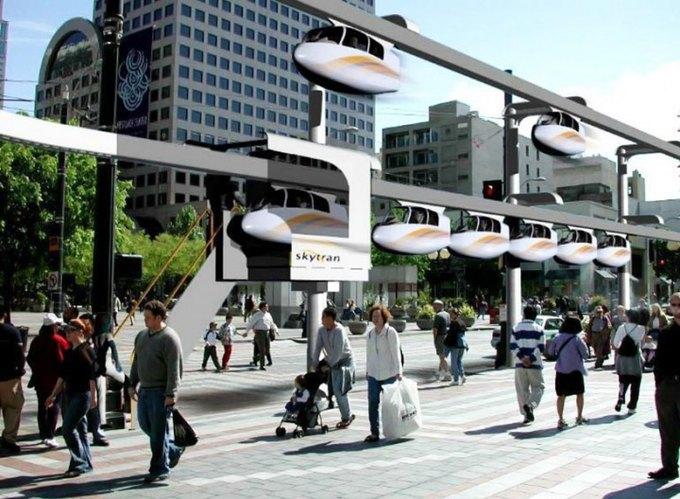 В Тель-Авиве построят транспортную сеть будущего. Изображение № 1.