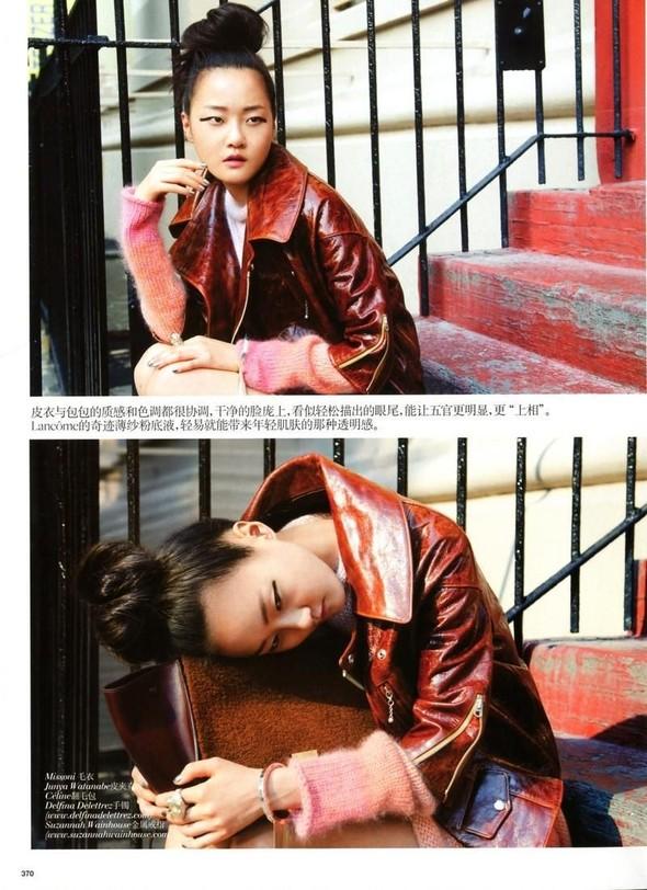 Съёмка: Томми Тон для китайского Vogue. Изображение № 7.
