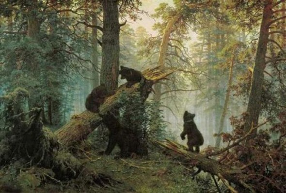 Новый взгляд на полотна великих художников. В главной роли кот. Изображение № 13.