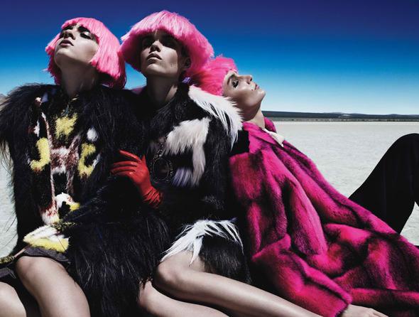 Съемки: Numero, Vogue, W и другие. Изображение №78.