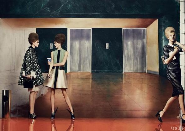 Vogue US March 2012. Изображение № 1.