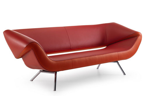 Ассиметричный диван Arabella от Leolux. Изображение № 2.