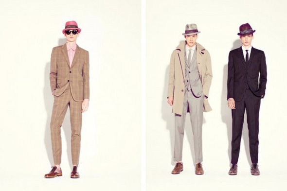Новые мужские лукбуки Louis Vuitton, Marc Jacobs и Fred Perry. Изображение № 27.
