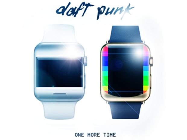 Часы в стиле Daft Punk. Автор: Николай Фигурин. Изображение № 24.
