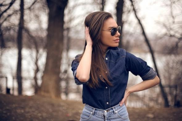 Джинсовое вдохновение: рубашка. Изображение № 3.