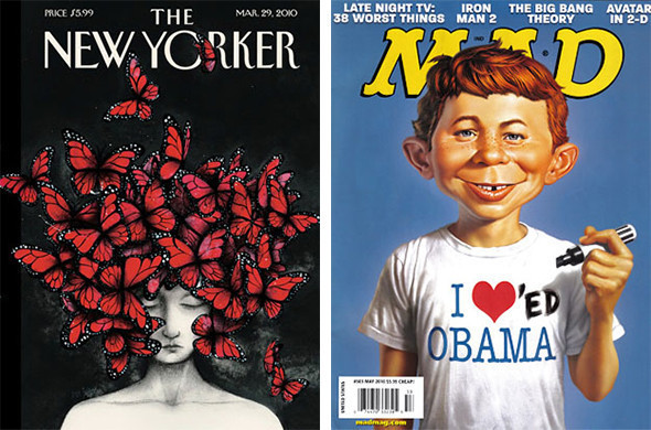Лучшие обложки журналов в 2010 году. Изображение № 3.