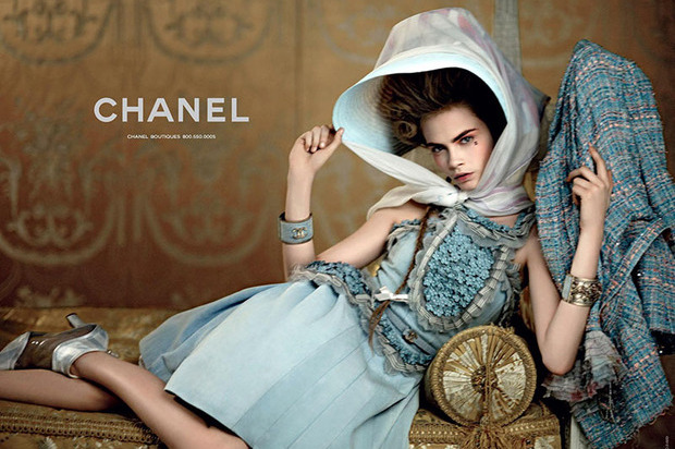 Вышли новые кампании Chanel, Donna Karan, Jaeger, Prada и THVM. Изображение № 2.