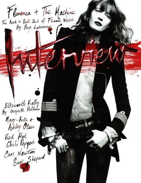 Обложки октября: Elle, Marie Claire, Interview и другие. Изображение № 12.