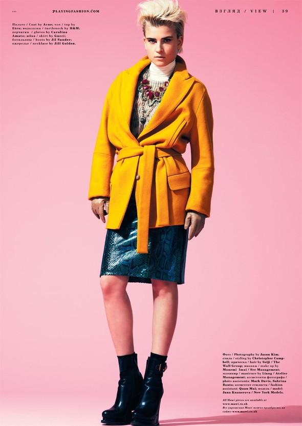 Съёмка: Яна Кнауэрова для Playing Fashion. Изображение № 8.