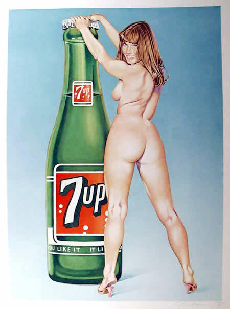 Изображение 9. Sexy old skool pin-up art prints and paintings.. Изображение № 9.