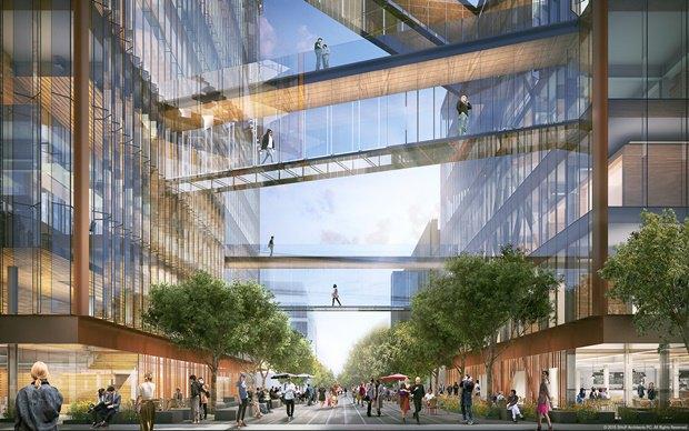 Uber представил проект будущей штаб-квартиры в Сан-Франциско. Изображение № 4.