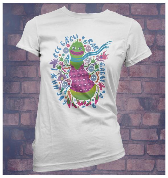Изображение 19. Принтовые футболки.. Изображение № 19.