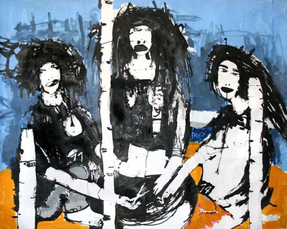 Checkpoint - выставка современной живописи. Изображение № 11.