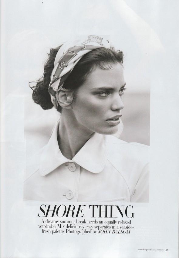 Съёмка: Рианне Тен Хакен для Harper's Bazaar. Изображение № 1.