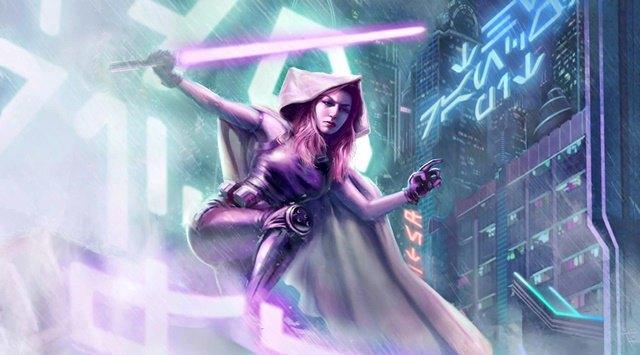 Мара Джейд — один из персонажей расширенной вселенной «Звёздных войн». Изображение № 1.