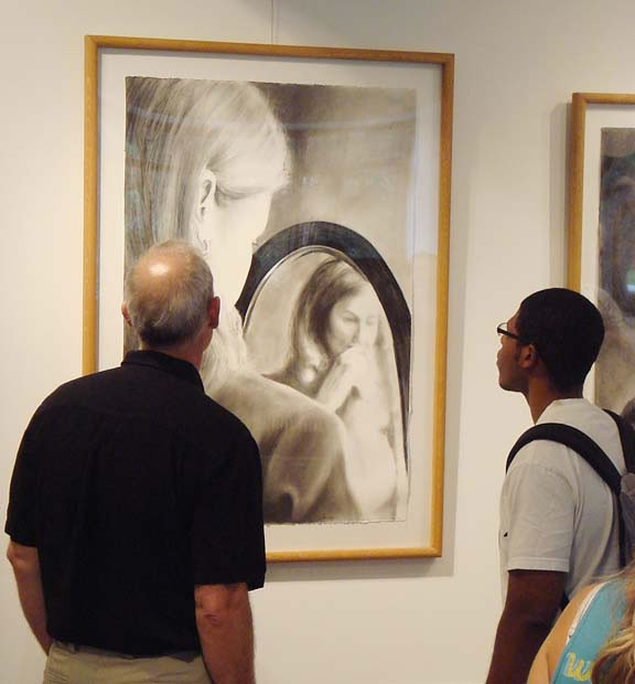 В пространстве рисунка: четыре художника. Изображение № 3.
