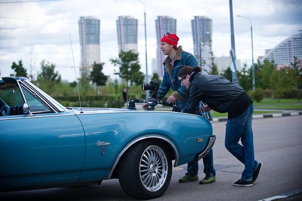 "Backstage съемок клипа Андрея Звонкого ""Суперстар"". Изображение № 13."