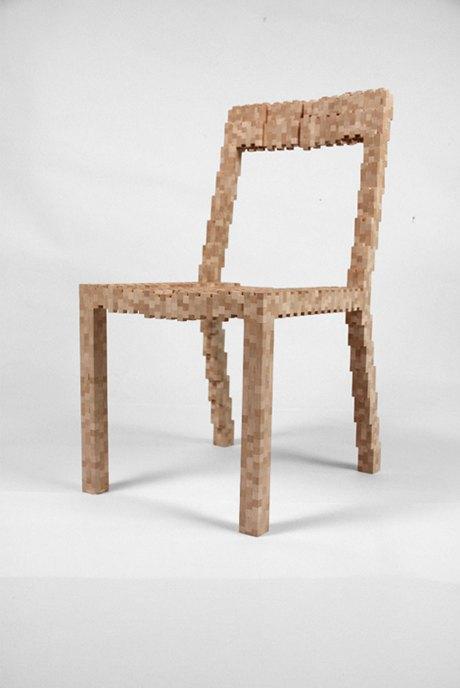 Глитч-мебель: красивые компьютерные ошибки в интерьере. Изображение № 16.