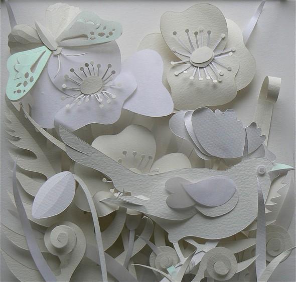 Бумажные картины-аппликации Helen Musselwhite. Изображение № 37.