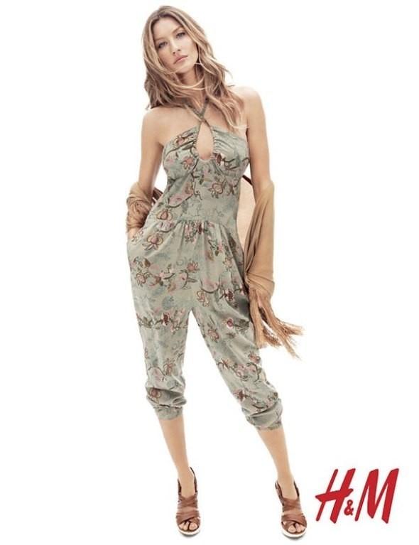 Gisele Bündchen в богемном стиле для H&M Весна 2011. Изображение № 3.