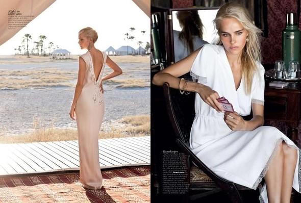 Съёмка: Изабель Лукас для австралийского Vogue. Изображение № 5.