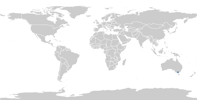 Создана интерактивная карта правок Википедии. Изображение № 1.