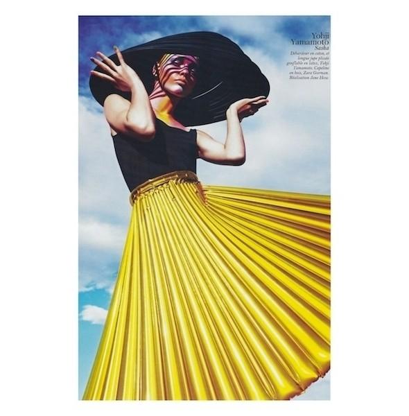 Изображение 13. Съемки: Harper's Bazaar, Industrie, Vogue и другие.. Изображение № 60.