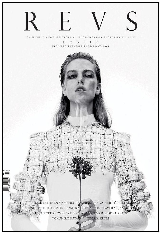 L'Officiel, Revs, W и другие журналы показали новые обложки. Изображение № 5.