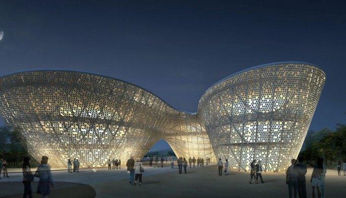 Архитектура дня: музей керамики со зданиями в форме чаш в Китае. Изображение № 2.