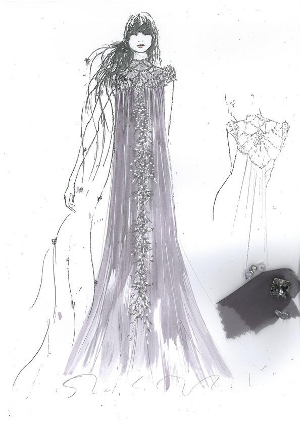 10 платьев диснеевских принцеcc от мировых дизайнеров в Harrods. Изображение №10.