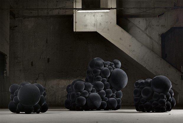 Как дизайнеры вдохновляются наукой: Молекулы и атомы  в интерьере. Изображение № 7.