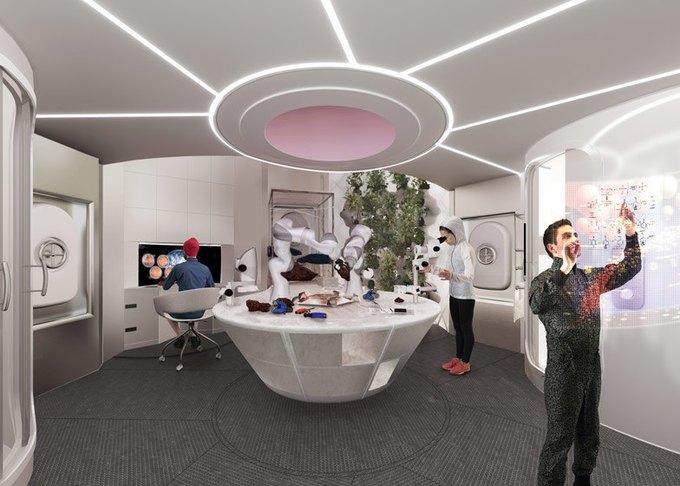 Архитекторы показали проект 3D-жилья для Марса . Изображение № 5.