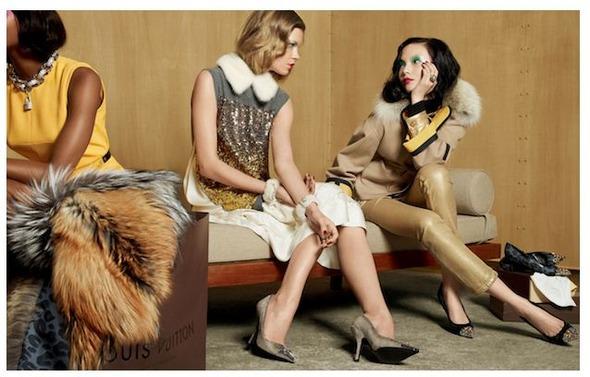 Кампании: Louis Vuitton, Tom Ford, Alexander McQueen и другие. Изображение № 4.