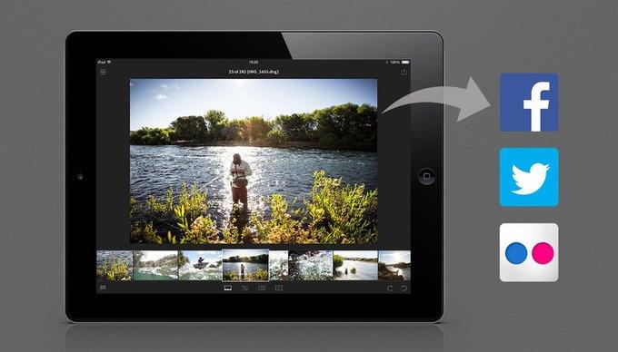 Adobe выпустила Lightroom для iPad. Изображение № 3.