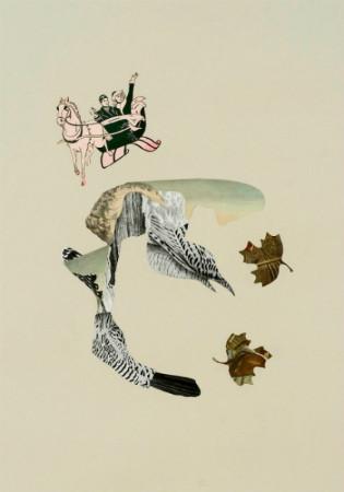 Клей, ножницы, бумага: 10 современных художников-коллажистов. Изображение № 73.