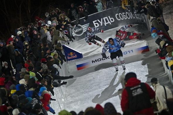Изображение 2. Финляндия взяла реванш в Москве 26 февраля (Red Bull Crashed Ice 2011).. Изображение № 2.