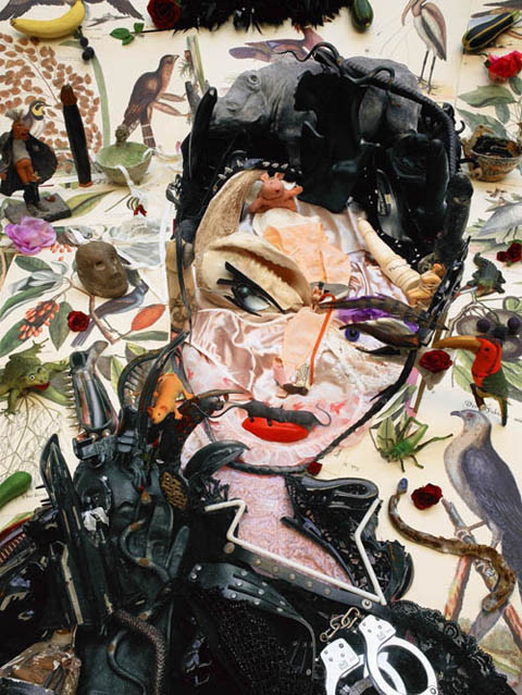 Картины из мусора. Изображение № 8.