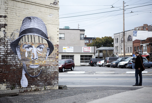 «Лица города» - арт-проект дизайнера Fauxreel. Изображение № 6.