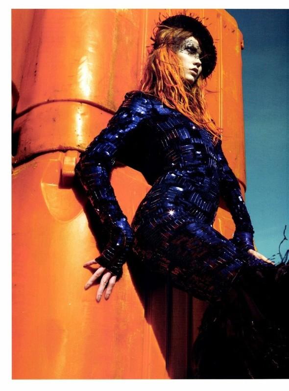 Съёмка: Карли Клосс для Numero. Изображение № 4.