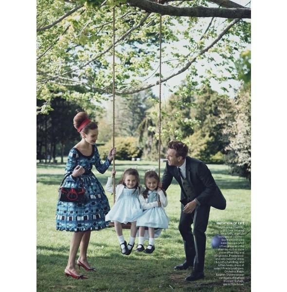 5 новых съемок: Amica, Elle, Harper's Bazaar, Vogue. Изображение № 29.