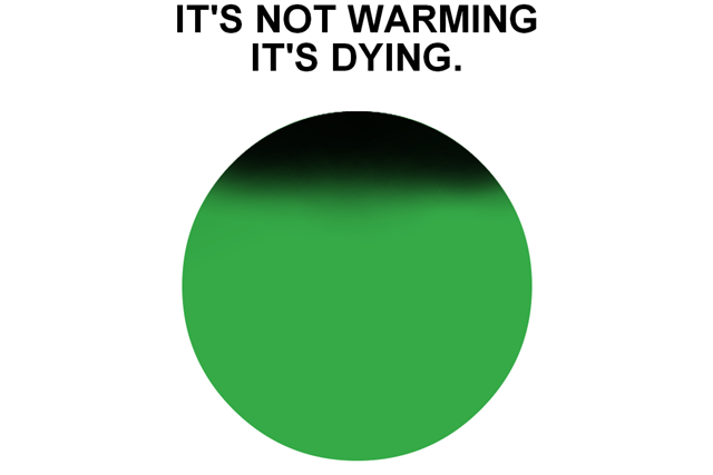 """Дизайнер логотипа """"I Love New York"""" создал знак для экологической кампании . Изображение № 1."""