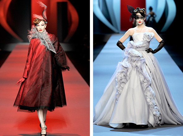 Изображение 8. Коллекции в цитатах: Haute Couture SS 2011.. Изображение № 2.