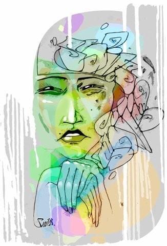 """Изображение 1. Персональная выставка Димы Snils'а """"06 - 11"""".. Изображение № 1."""