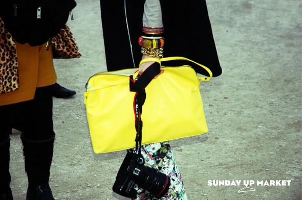 Sunday Up Market на неделе моды в Париже: streetstyle. Изображение № 6.