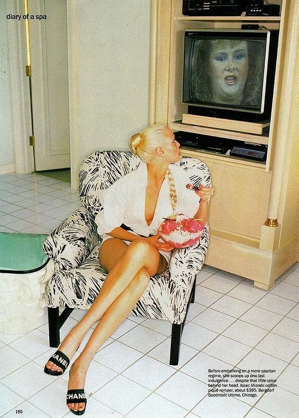 """Diary ofa Spa"". Vogue'94. Изображение № 5."