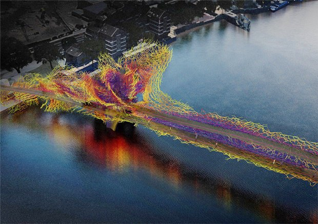 Выложены 74 проекта нового моста через Темзу. Изображение № 74.