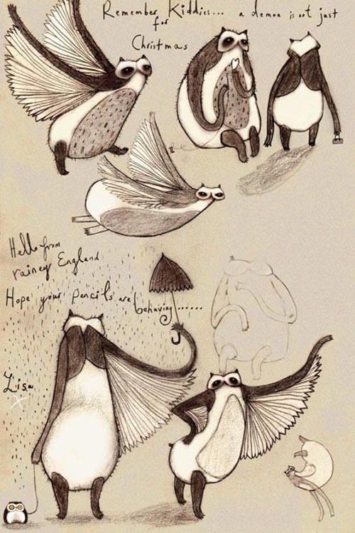 Изображение 48. Сказки на ночь от Лизы Эванс (Lisa Evans).. Изображение № 61.