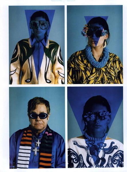Изображение 52. Музыка нас связала: 10 модных съёмок с музыкантами.. Изображение № 52.