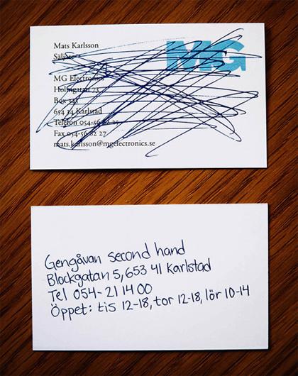 70 Нетривиальных визиток. Изображение № 26.