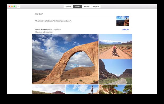 Появились первые скриншоты приложения-замены iPhoto для Maс. Изображение № 4.